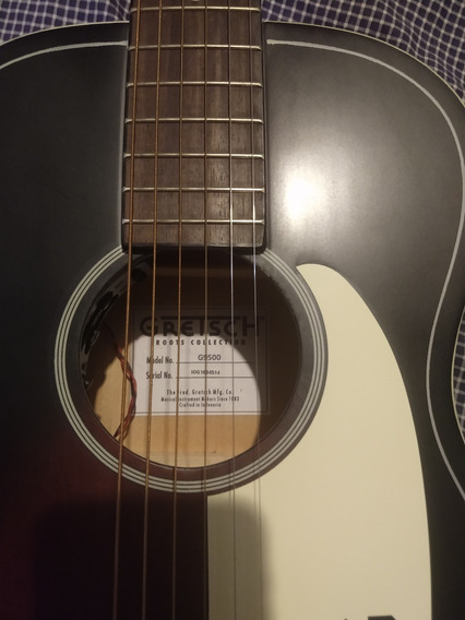 Guitarra Electroacústica Parlor Gretsch Jim Dandy G9500