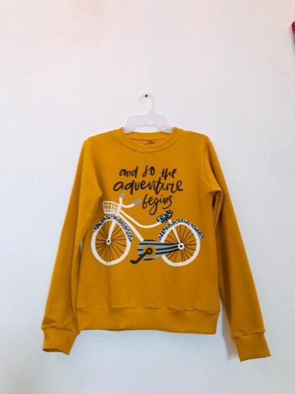 Sudadera Estampada Bicicleta