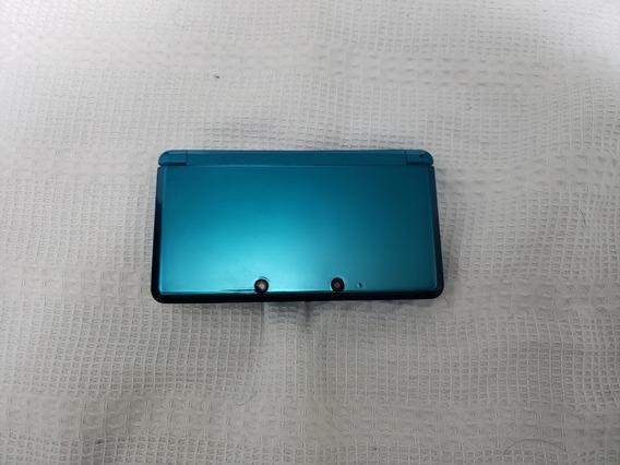 Nintendo 3ds Aqua Blue + 4 Jogos Originais