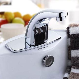 Llave Automatica Con Sensor Infrarrojo Para Baño Lavabo 0504