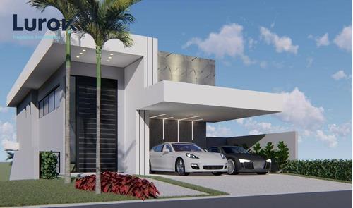 Imagem 1 de 17 de Casa Novíssima Para Venda Condomínio Terras Do Oriente Valinhos - Ca4297
