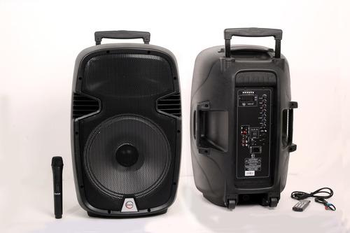 Parlante Amplificador 15  Recargable+1 Micro+envio Gratis