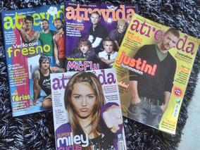 Kit Revistas- Miley Cyrus, Justin Timberlake, Mc Fly, Fresno