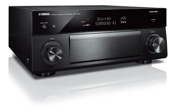 Receiver Yamaha Rx-a1080 Aventage 7.2 Zona2 Revenda Oficial