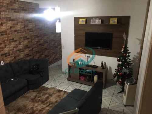 Sobrado Com 3 Dormitórios À Venda, 110 M² Por R$ 250.000,00 - Parque Primavera - Guarulhos/sp - So0517