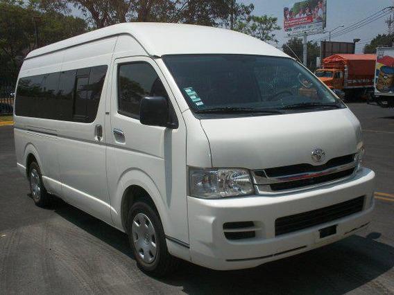 Toyota Hiace 2011 De 15 Pasajeros $8,000 Mil Dolares