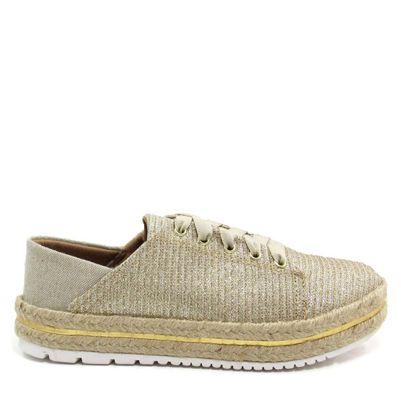 Tênis Casual Feminino Olfer Shoes 3022 Corda