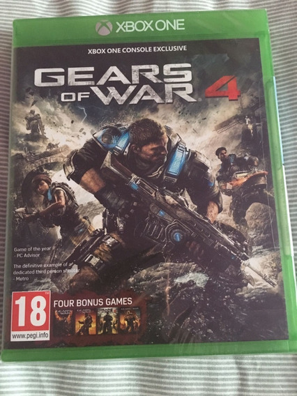 Jogo Mídia Física Gears Of War 4 Ultimate Edition Xbox One