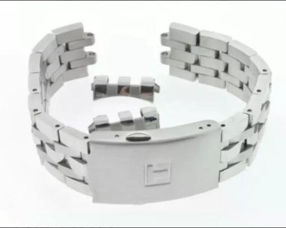 Pulseira Tissot Prc200 Metal Aço T17 Pronta Entrega