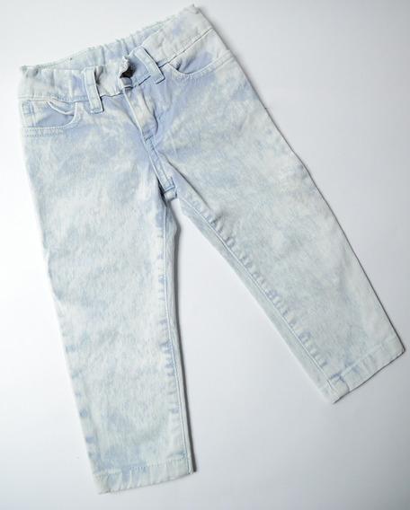 Combo X6 Pantalones De Jean Chupin Lavanda Para Beba Gimos