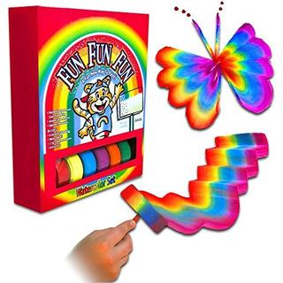 Shefiz Magic Art Set Rainbow Paint Set Para Ninos Incluidos
