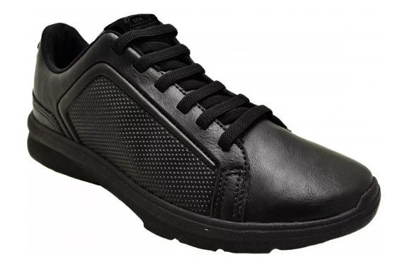 Sapato Masculino Sapatênis Stir Preto Linha Profissional