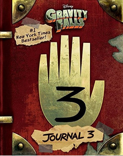 Diario 3 Gravity Falls Journal Inglés (pasta Dura) Original