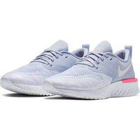 Tenis Nike Odyssey React Azul Claro Mujer Originales A Meses