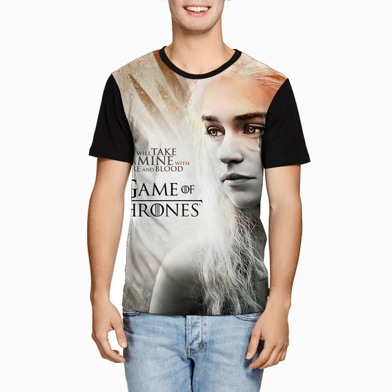 Camiseta Daenerys Targaryen Game Of Thrones Série Got