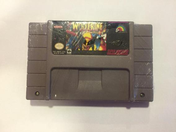 Snes Wolverine Adamantium Rage Super Nintendo Original!