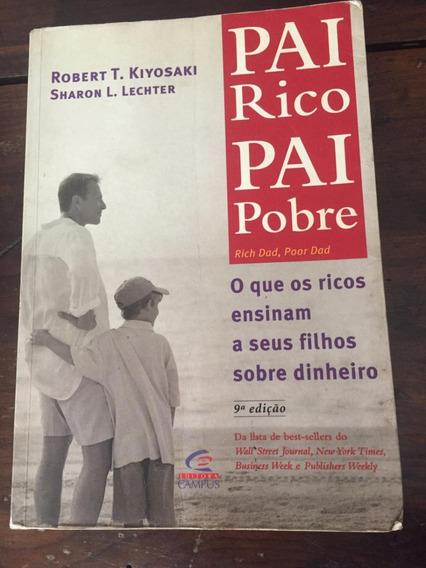 Livro Pai Rico Pai Pobre - Robert T. Kiyosaki