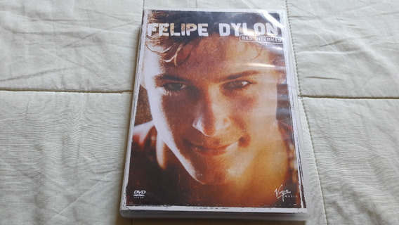 Dvd Felipe Dylon - Nas Internas C/ Encarte - Ótimo Estado