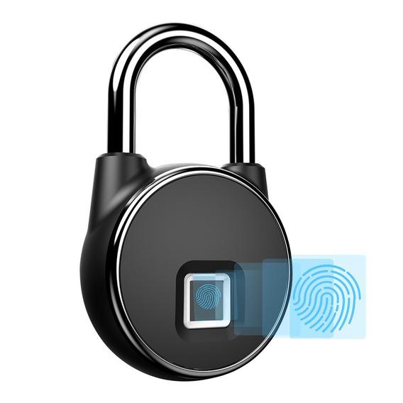 Bloqueio De Impressão Digital Inteligente Sem Chave Recarreg
