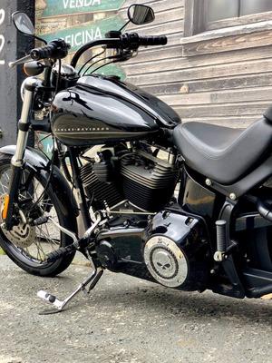 Harley Davidson Softail Blackline 2012