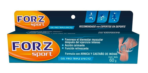 Gel Frio Forz Sport Triple Efecto X 60gr