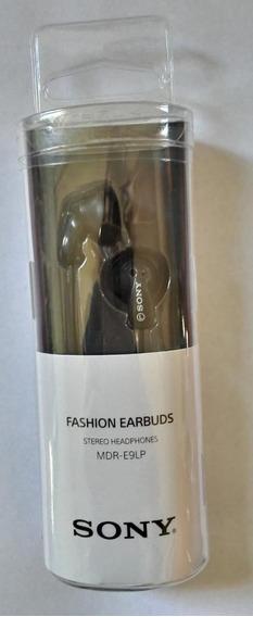 Fone De Ouvido Headphones Sony- Mdr-e9lp - iPhone E Ipode