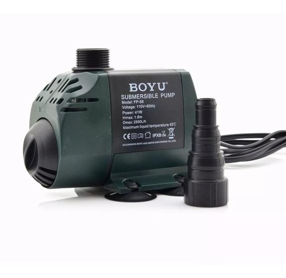 Bomba Submersa Boyu/jad Fp 58 2500l/h Lagos Fonte -220v