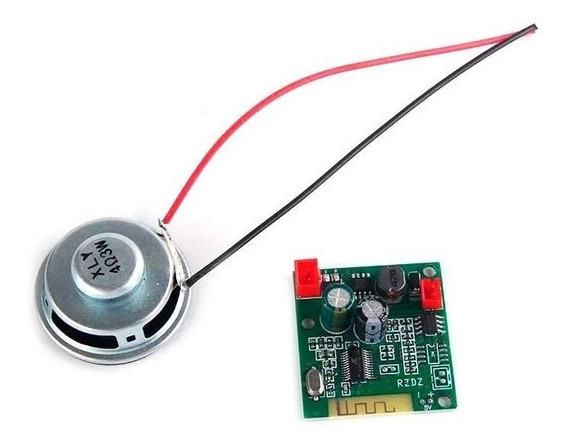 Kit Bluetooth + Alto Falante Para Hoverboard