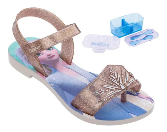Grendene Frozen Magic Snow 22164 - Sandália Infantil Disney