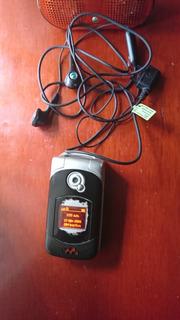 Celular Sony Ericsson W300i Memoria M2, Audifonos, Bocina