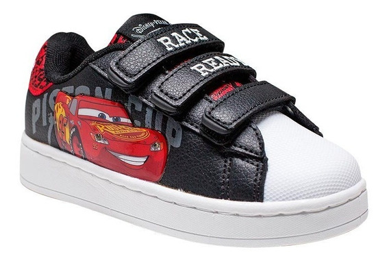 Addnice Zapatillas Niño Lifestyle Flow Cars Velcro Negro