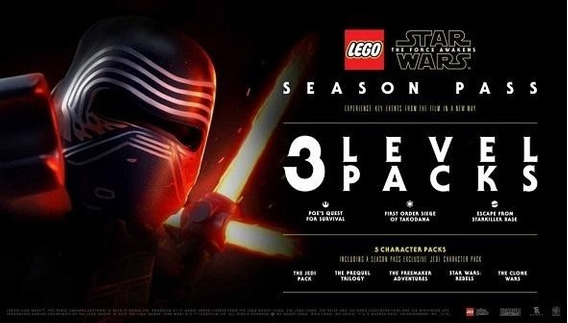 Lego Star Wars: O Despertar Da Força - Season Pass Steam Pc