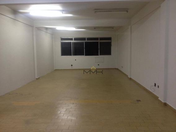 Sala Comercial Para Venda Ou Locação, 90 M2 No Centro - São Vicente/sp - Sa0287