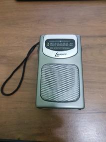 Rádio Portátil Lenoxx Am/fm Com Falante Rp-62 (mostruário)