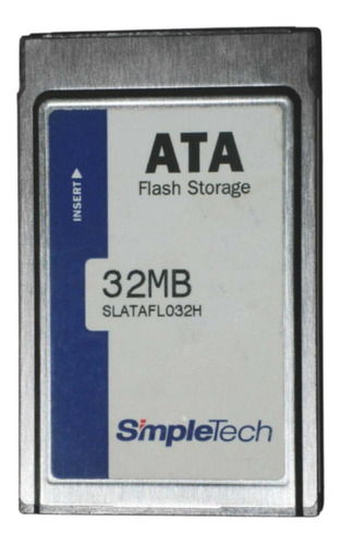 Imagem 1 de 1 de Cartão Flash Pcmcia 32mb Ata Simpletech