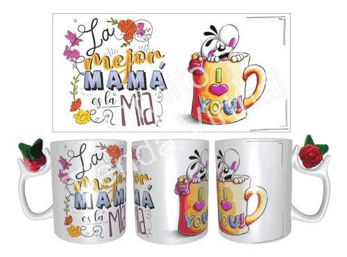 Mug Dia De La Madre Personalizado