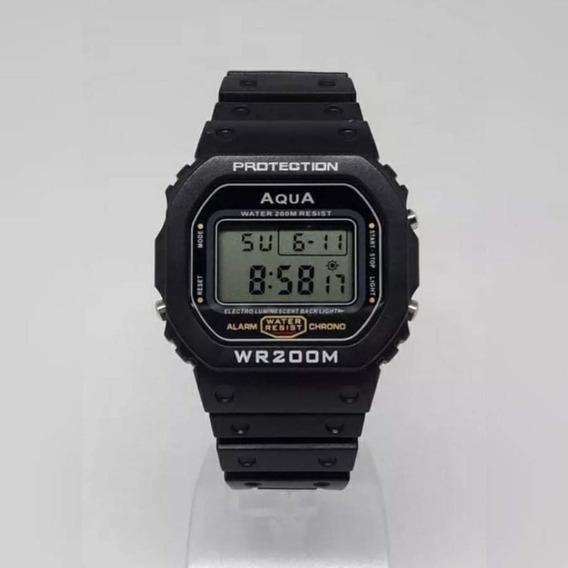Relógio Aqua Digital A Prova D