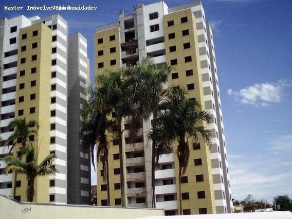 Apartamento Para Venda Em Valinhos, Residencial Chiari, 3 Dormitórios, 1 Suíte, 1 Banheiro, 2 Vagas - Apv 0064