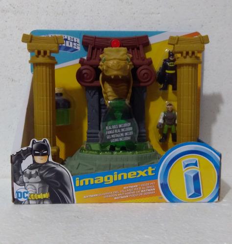 Imaginext Batman Guarida Del Villano Ras Al Ghul No Lego ...