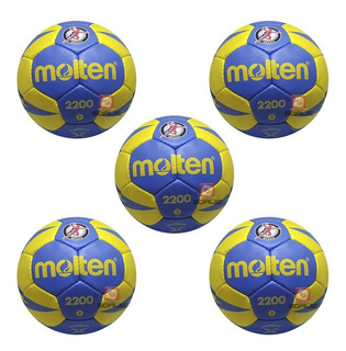 Balón Oficial Molten Handball 2200 Paq 5 Pza Envio Gratis