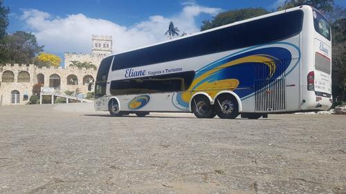 Imagem 1 de 6 de Onibus Dd Carroceria Marcopolo 1800 Scania 380