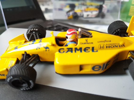 F1 - Nelson Piquet - Lotus 1988 - 1:43 - Customizada Camel
