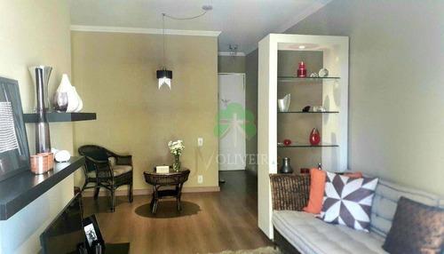 Imagem 1 de 30 de Apartamento Com 3 Dormitórios À Venda, 64 M² Por R$ 398.000,00 - Vila Sônia - São Paulo/sp - Ap2279