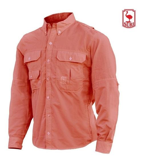 Camisa Ventilada Supplex Suri Proteccion Uv Secado Rapido