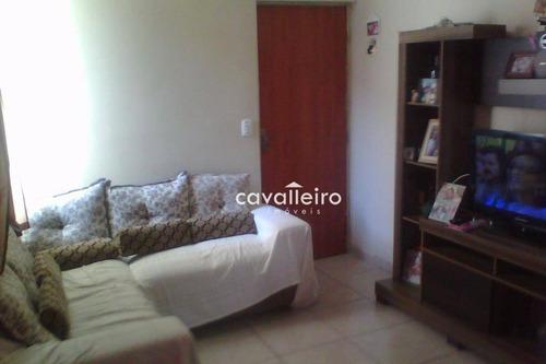 Imagem 1 de 10 de Apartamento Residencial À Venda, Tribobó, São Gonçalo. - Ap0158