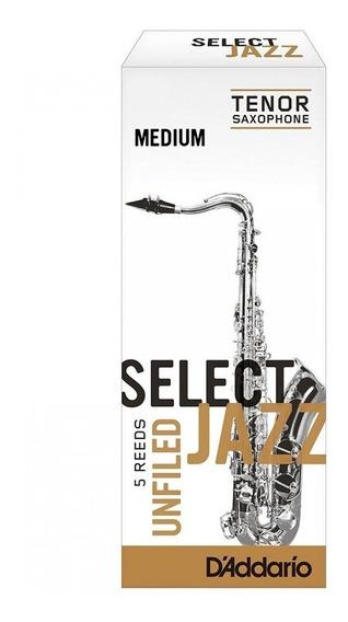 Cañas Select Jazz Unfiled Saxo Tenor Nº2 Medium - Caja X 5
