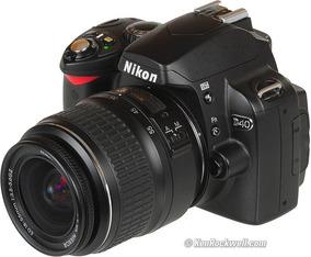 Camera Nikon D40 Com Lente 18-55