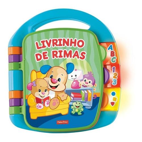 Livrinho De Rimas Musical Aprender E Brincar - Fisher-price