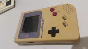 Game Boy Classic Com Tela Ruim, Retirada Em Mãos.