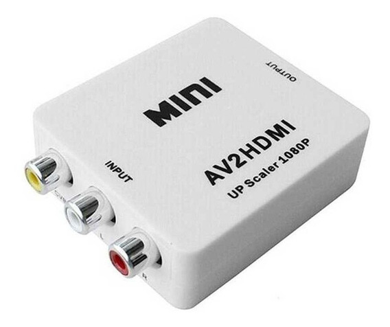 Conversor Mini Av2 Para Hdmi - Hd Vídeo Converter Full Hd